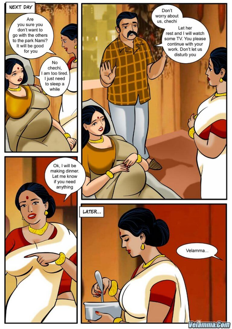Velamma - Episode 3 - How far would you go for your family? - Panel 004