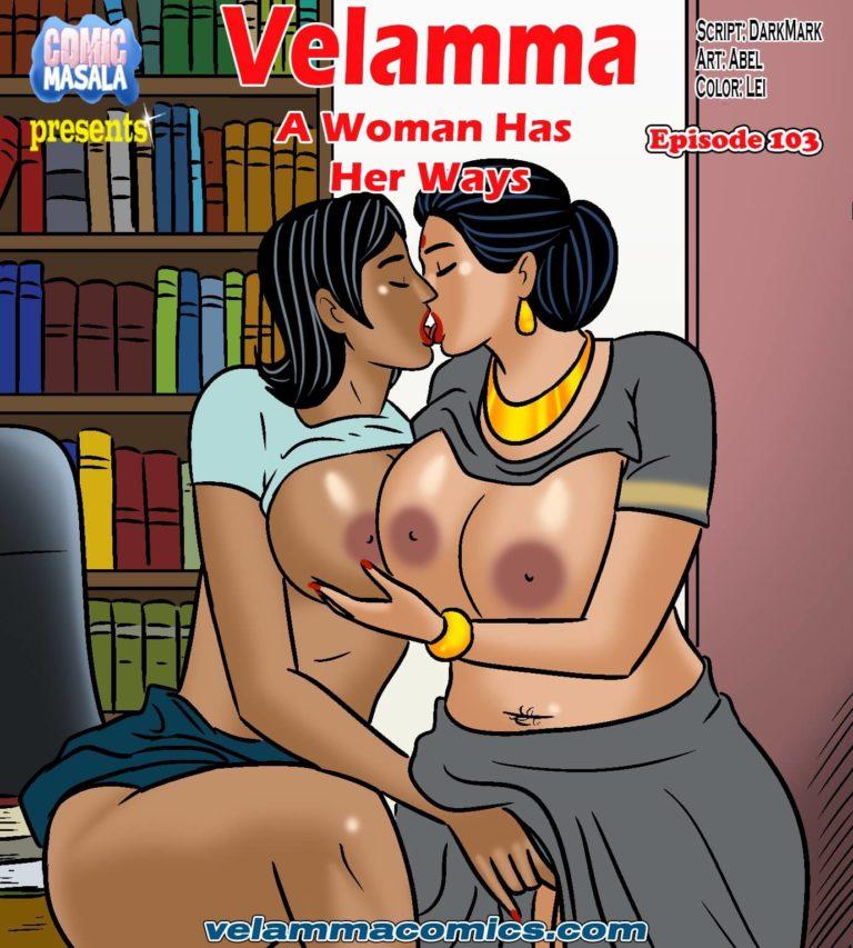 Velamma 103 cover page