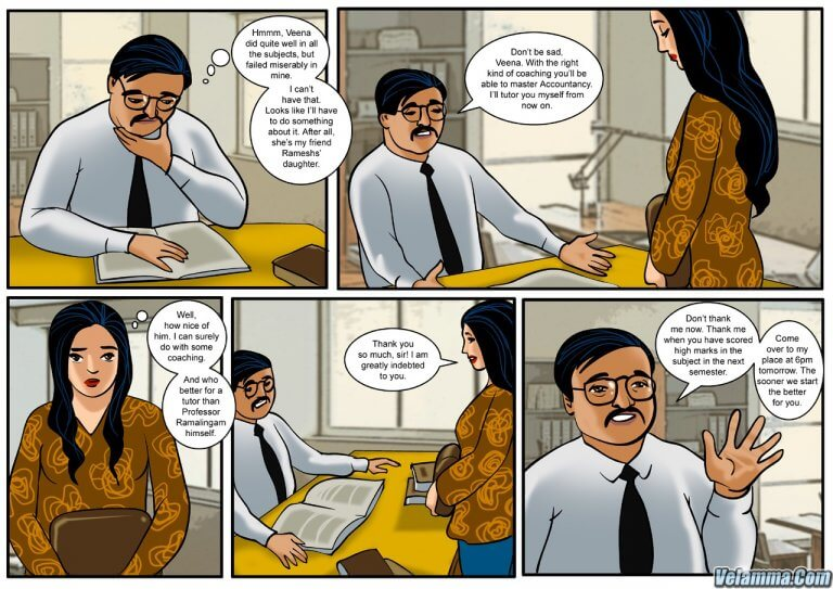 Veena - Episode 1 - To Sir With Love - Panel 002