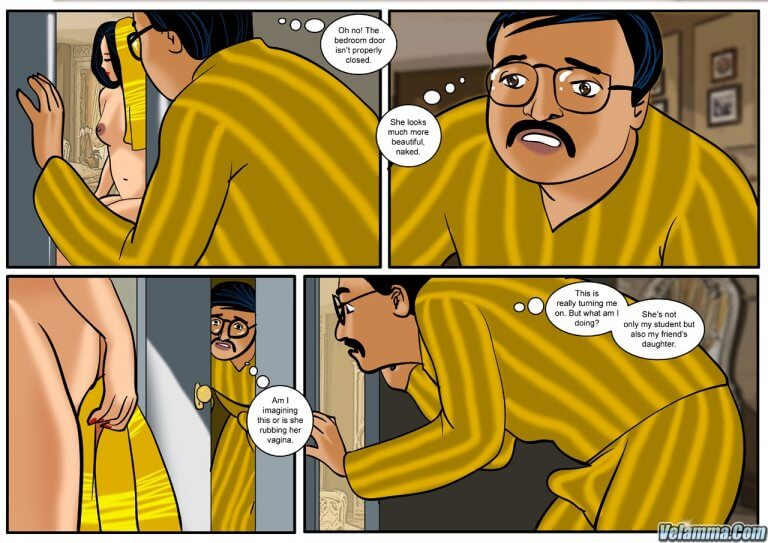 Veena - Episode 1 - To Sir With Love - Panel 005